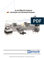 Material Analyses of Grinding Tools en De