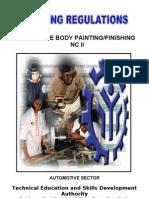 TR Auto Body Painting Finishing NC II.doc