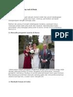 5 Adat Pernikahan Paling Aneh Di Dunia