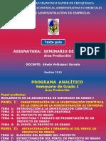 Texto guía - 2010 SEMINARIO 1