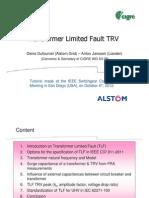 CIGRE+IEEE+Tutorial+2012+Part+3+TLF Dufournet+&+Janssen