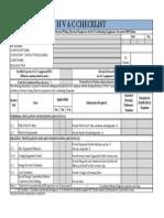 Hvac Check List Rev 1