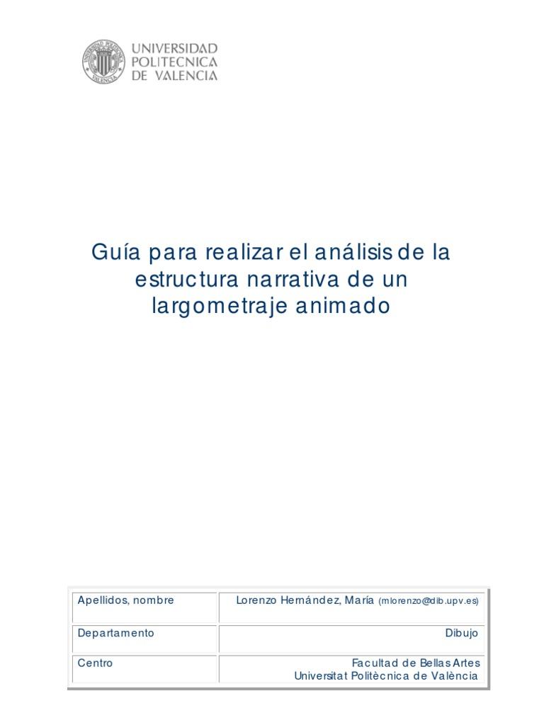 Guia1 Para Estructura De Guin Blancanieves Narrativa