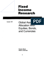 101574379 GOLDMAN SACHS Theory Fixed Income Research Global Asset Allocation With Equities Bonds Currencies