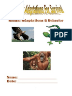 Animal Unit Student Workbook