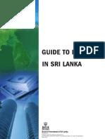 Investment Guide of sri lanka