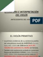 ANTECEDENTES DEL VIOLÍN