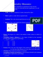 Centrality Measures Presentation