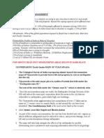 Disaster Management for Group i Mod
