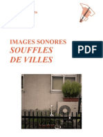 SOUFFLES DE VILLES