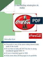 CocaCola Marketing Strategies in India