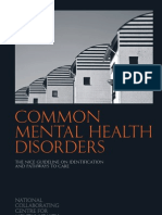 Common Mental Health Disorders.