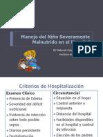 Tratamiento del desnutrido severo en pediatria