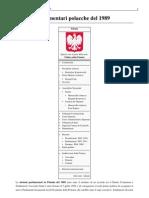 Elezioni Parlamentari Polacche Del 1989