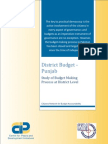 Study of Budget Making Process at District Level - District Budget Punjab.pdf