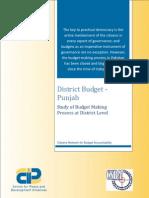 Study of Budget Making Process at District Level - District Budget Punjab.pdf