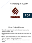 Project Financing in HUDCO