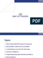 ABAP HR Material