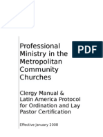 Latin American Protocol - Clergy Manual