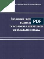 Cartea_Psihiatrului_Indrumar Legislativ in Domeniul Sanatatii MIntale in Republica Moldova