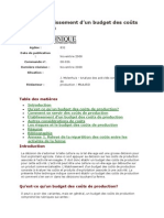 Guide Destimation Cout-budget