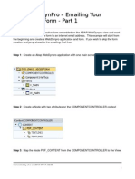 Emailing YourInteractive Form