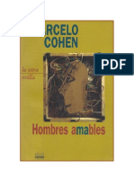 Cohen, Marcelo - Hombres Amables [PDF]