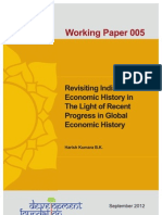 Revisiting Indian Economic History in the Light of Recent Progress in Global Economic History