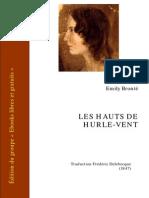 Bronte Emily Les Hauts de Hurlevent