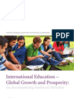 Iinternational Education Global Growth and Prosperity Analytical Narrative