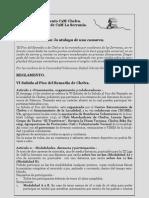 Reglamento CXM Chelva 2013 VI Edición.