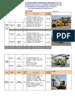 RHINOCEROS Excavator Price List (1)