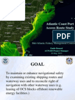 Powerpoint by USCG on ACPARS navigation study 2013