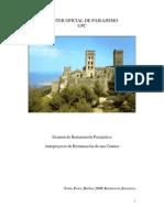 Examen de Restauración Paisajística