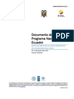 UNREDD_PB6_Documento Del Programa Nacional - Ecuador