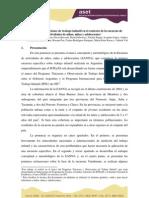 Argentina Medicion y Estimaciones Del Trabajo Infantil
