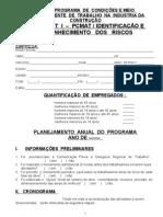 Check List de PCMAT - Levantamento