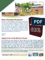 Inside Woodside - Summer Newsletter 2013