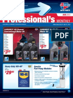 August Professional's Monthly Specials from CARQUEST