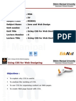 JWD_Unit 4_Using CSS for Web Designing_PPT