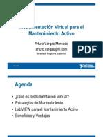 Instrumentacion Virtual Para El Mantenimiento Activo