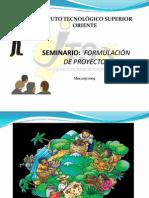 Seminario de Formulacion y Evaluacion de Proyectos1