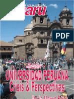 UNIVERSIDAD PERUANA CRISIS Y PERSPECTIVA