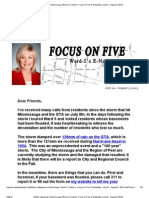 What's Happening in Mississauga_ Bonnie Crombie's 'Focus on Five' E-Newsletter (July 22 - August 5, 2013)