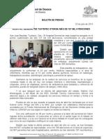 25/07/13 Germán Tenorio Vasconcelos OTORGA HOSPITAL GENERAL DE TUXTEPEC MÁS 127 MIL ATENCIONES