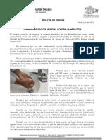 28/07/13 Germán Tenorio Vasconcelos conmemora Sso Dia Mundial Contra La Hepatitis