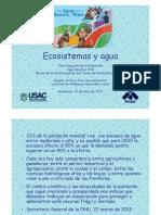 Ecosistemas y Agua, Conferencia 22/05/2013.