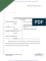 13-07-26 Microsoft-Motorola Disputed Jury Instructions