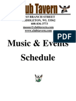 Club Tavern Events