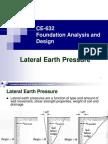 CE 632 Earth Pressure PPT